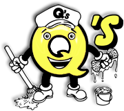 Q's Cleaning Logo